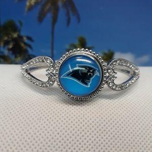 Jewelry - Carolina Panthers Bracelet